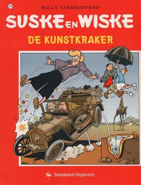 Suske en Wiske 278 De kunstkraker