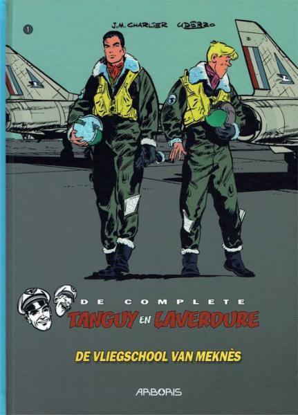 De complete Tanguy en Laverdure 1 De vliegschool van Meknès
