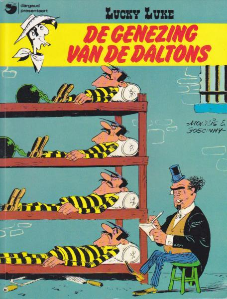 Lucky Luke (Dargaud/Lucky Comics) 13 De genezing van de Daltons