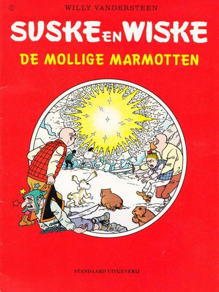 Suske en Wiske (Reclame Albert Heijn - 2e reeks) 3 De mollige marmotten