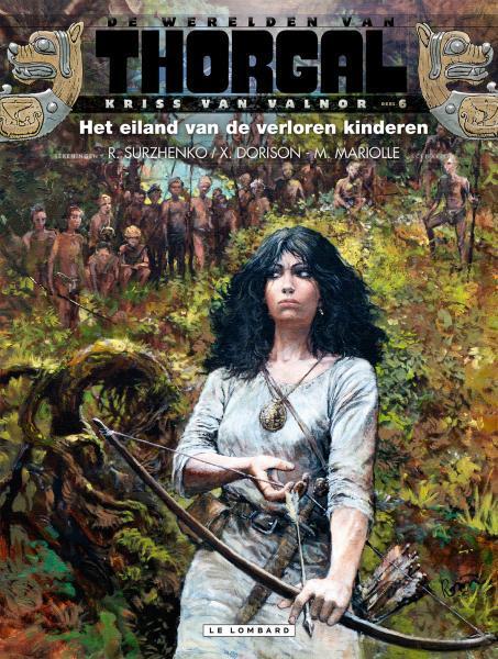 De werelden van Thorgal - Kriss van Valnor 6 Het eiland van de verloren kinderen
