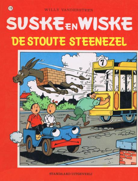 Suske en Wiske 178 De stoute steenezel