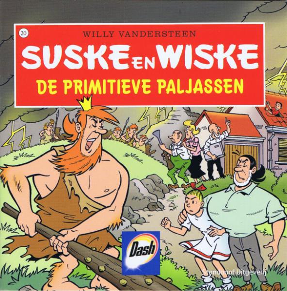Suske en Wiske (reclame/kortverhaal) 43 De primitieve paljassen