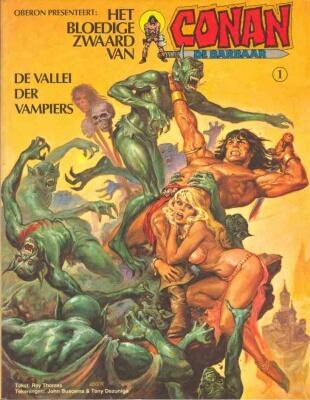 Het bloedige zwaard van Conan de barbaar 1 De vallei der vampiers