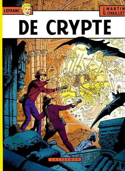 Lefranc 9 De crypte