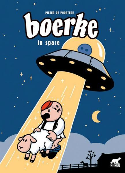 Boerke 8 Boerke in space