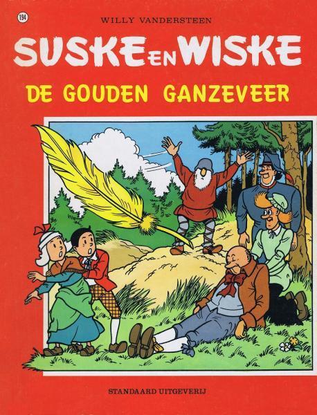 Suske en Wiske 194 De gouden ganzeveer