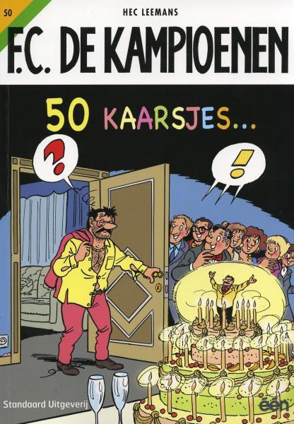 F.C. De Kampioenen 50 50 kaarsjes...