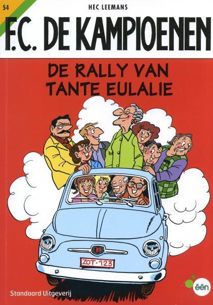 F.C. De Kampioenen 54 De rally van tante Eulalie