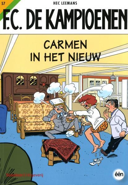 F.C. De Kampioenen 57 Carmen in het nieuw