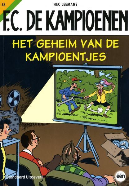 F.C. De Kampioenen 58 Het geheim van de kampioentjes