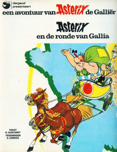 Asterix 5 Asterix en de ronde van Gallia