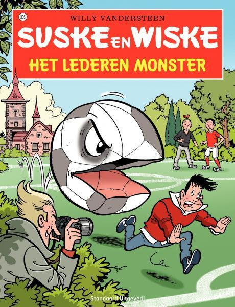 Suske en Wiske 335 Het lederen monster
