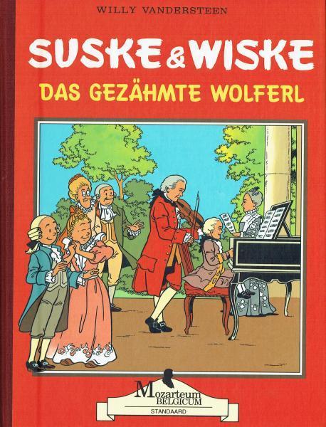 Suske en Wiske 228 Das gezähmte Wolferl
