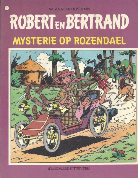 Robert en Bertrand 1 Mysterie op Rozendael
