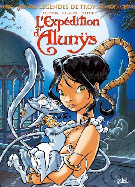Legenden van Troy: De zoektocht van Alunys 1 Légendes de Troy: L'expédition d'Alunÿs