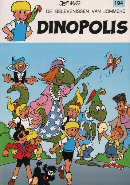 Jommeke 194 Dinopolis