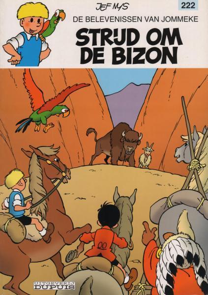 Jommeke 222 Strijd om de bizon