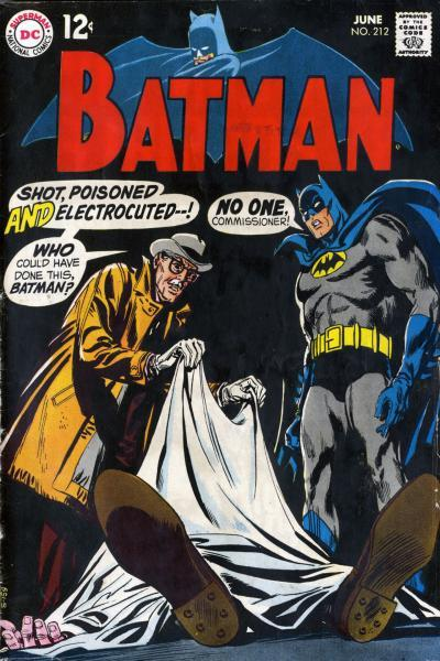 Batman 212 The Baffling Deaths of the Crime-Czar!