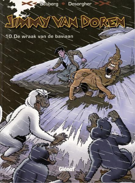 Jimmy Van Doren 10 De wraak van de baviaan