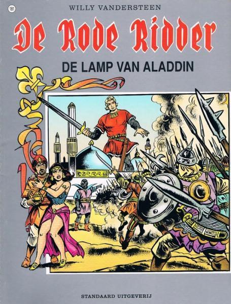 De Rode Ridder 181 De lamp van Aladdin