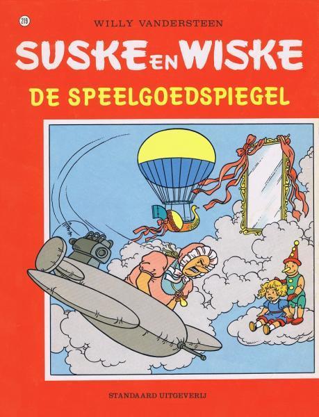 Suske en Wiske 219 De speelgoedspiegel