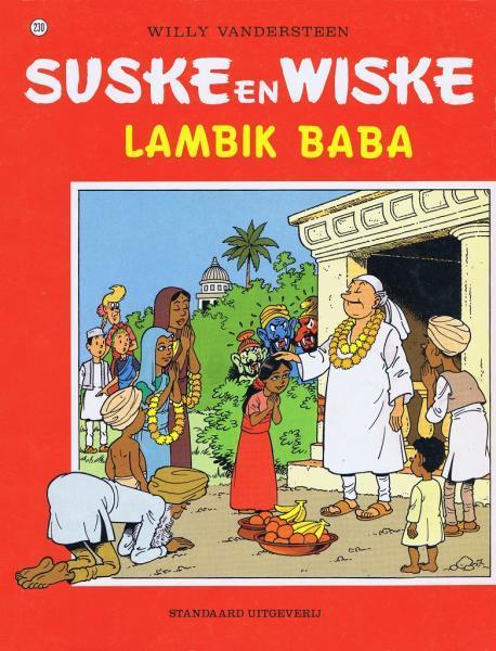 Suske en Wiske 230 Lambik Baba