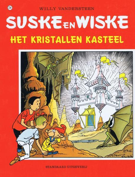 Suske en Wiske 234 Het kristallen kasteel