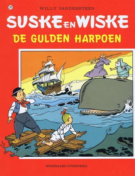Suske en Wiske 236 De gulden harpoen