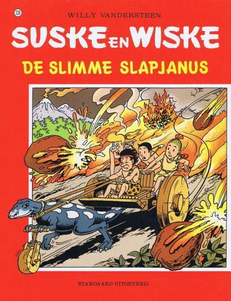 Suske en Wiske 238 De slimme slapjanus