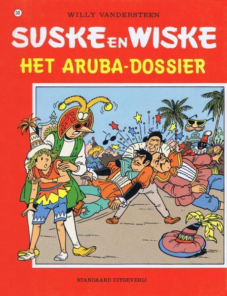 Suske en Wiske 241 Het Aruba-dossier