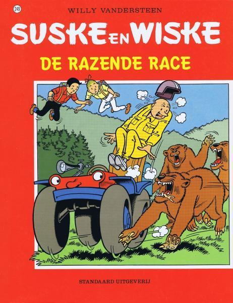 Suske en Wiske 249 De razende race