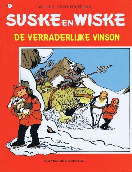 Suske en Wiske 251 De verraderlijke Vinson
