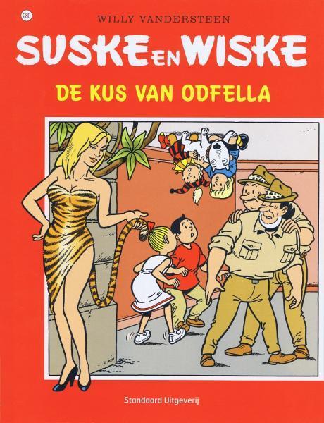 Suske en Wiske 280 De kus van Odfella
