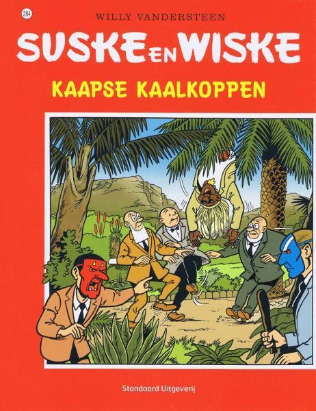 Suske en Wiske 284 Kaapse kaalkoppen