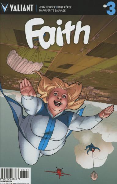 Faith (Valiant) A3 The Long Con, Part 1