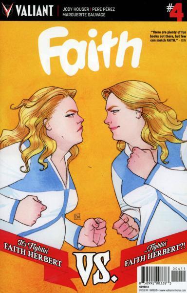 Faith (Valiant) A4 The Long Con, Part 2: Double Whammy!