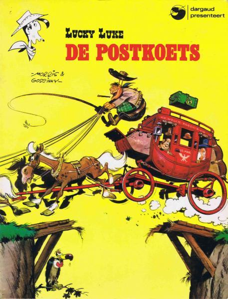 Lucky Luke (Dargaud/Lucky Comics) 1 De postkoets