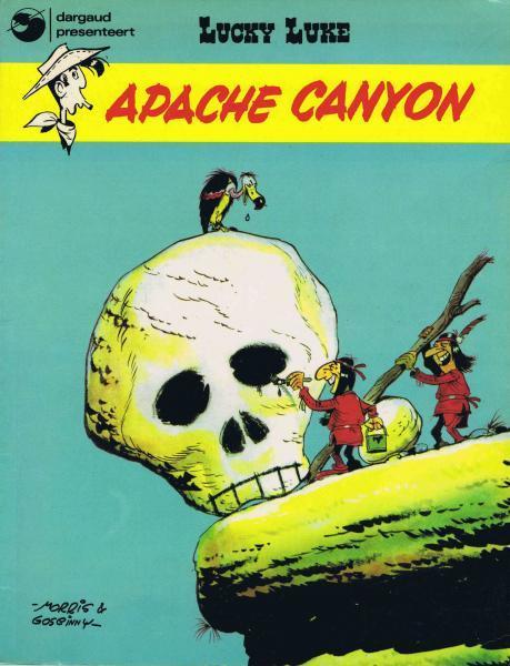 Lucky Luke (Dargaud/Lucky Comics) 7 Apache canyon