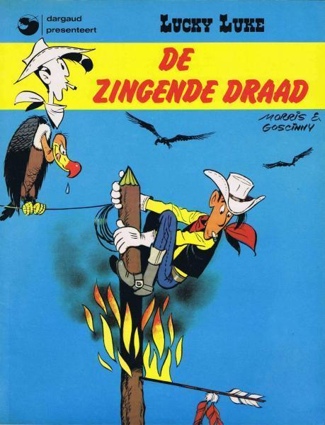 Lucky Luke (Dargaud/Lucky Comics) 16 De zingende draad