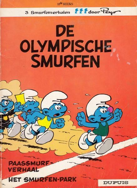 De Smurfen 11 De Olympische Smurfen