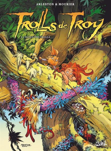 Trollen van Troy 22 À l'école des trolls