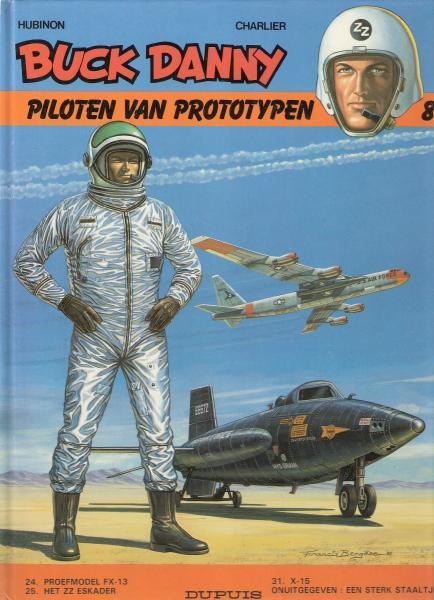 Buck Danny INT 8 Piloten van prototypen
