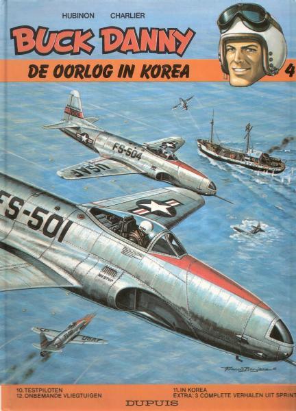 Buck Danny INT 4 De oorlog in Korea