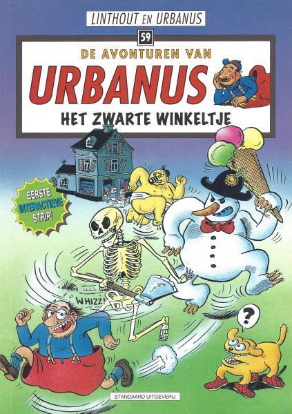 Urbanus 59 Het zwarte winkeltje
