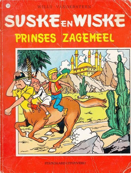 Suske en Wiske 129 Prinses Zagemeel