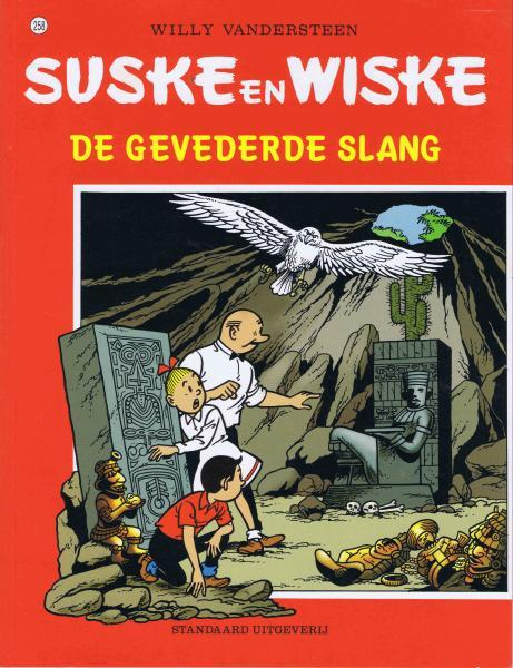 Suske en Wiske 258 De gevederde slang