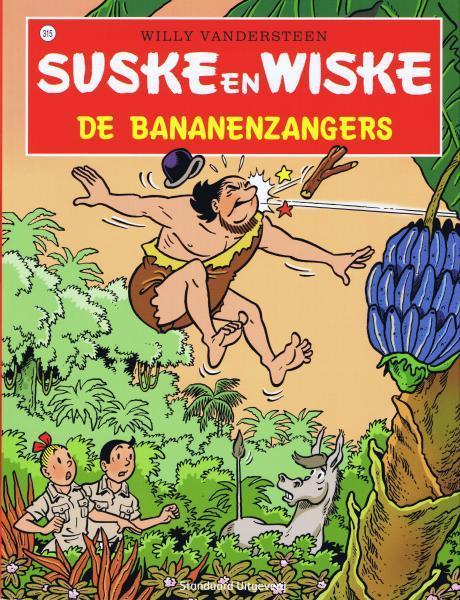 Suske en Wiske 315 De bananenzangers