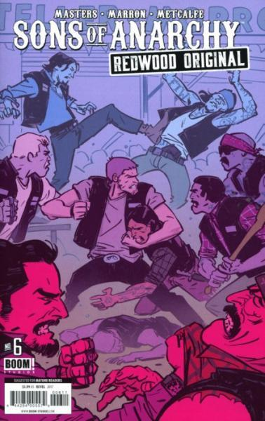 Sons of Anarchy: Redwood Original 6 Issue #6