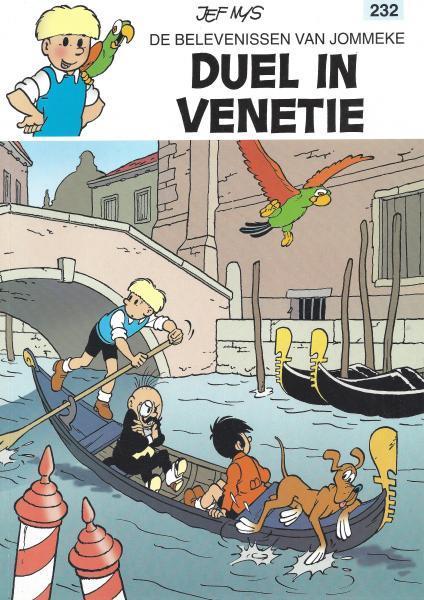 Jommeke 232 Duel in Venetië